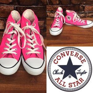 Converse Hot Pink All Stars